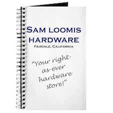 Sam Loomis Hardware Store Journal