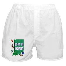 INDIANA BORN Boxer Shorts