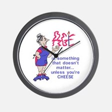 Unless Youre Cheese Wall Clock