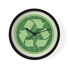Recycle - Global Wall Clock