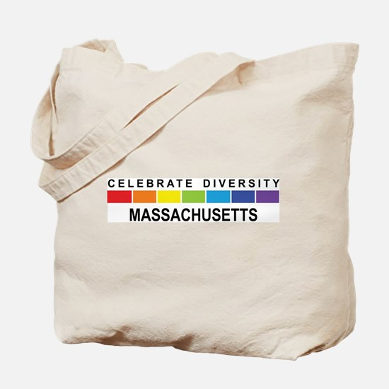 MASSACHUSETTS - Celebrate Div Tote Bag