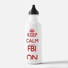 Fbi Water Bottle