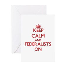 Federalists Greeting Cards