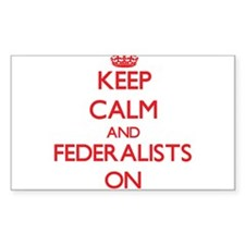 Federalists Decal