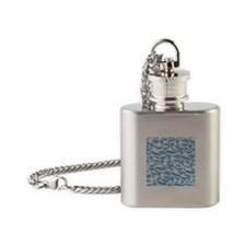 Fantastic Flying Machines Flask Necklace