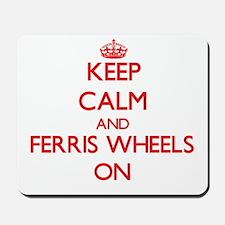 Ferris Wheels Mousepad