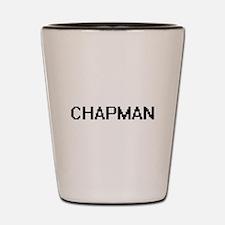 Chapman digital retro design Shot Glass