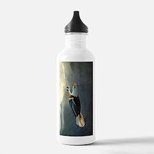 Flying Bald Eagle Water Bottle