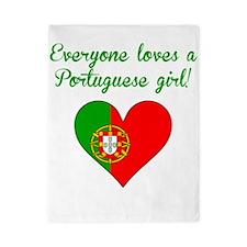 Everyone Loves A Portuguese Girl Twin Duvet