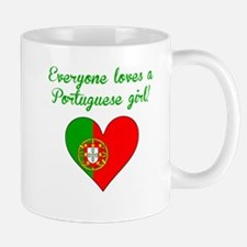 Everyone Loves A Portuguese Girl Mugs