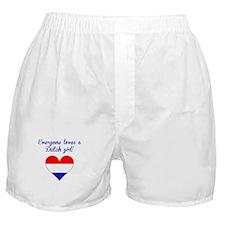 Everyone Loves A Dutch Girl Boxer Shorts