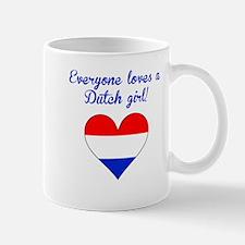 Everyone Loves A Dutch Girl Mugs