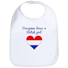 Everyone Loves A Dutch Girl Bib