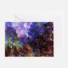 Roses by Monet Greeting Card
