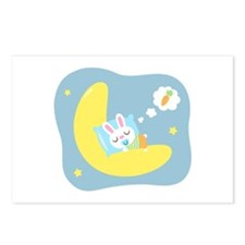 Sweet Dreams Cute Bunny Dreamland for Kids Postcar