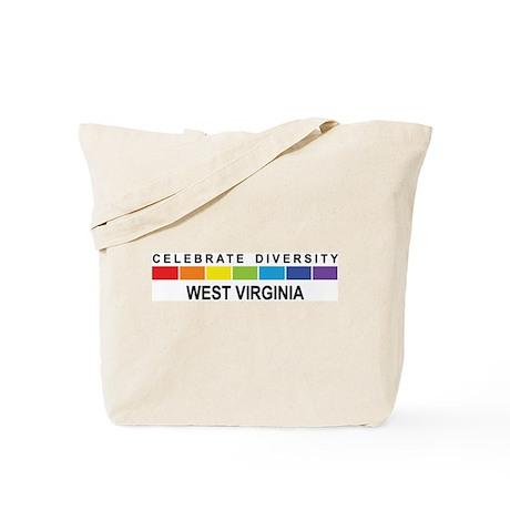 WEST VIRGINIA - Celebrate Div Tote Bag