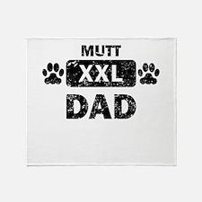 Mutt Dad Throw Blanket