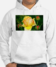 Beautiful Yellow and Red Roses Hoodie