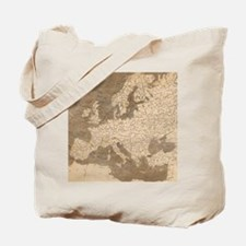Vintage Map of Europe (1804) Tote Bag