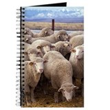 Farmer sheep Journals & Spiral Notebooks