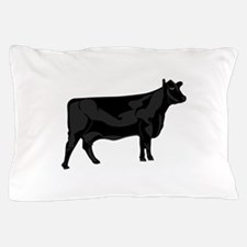 Black Angus Pillow Case