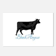 Black Angus Postcards (Package of 8)