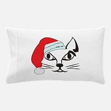 Santa Cat Pillow Case