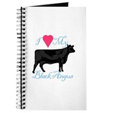 I Love My Black Angus Journal