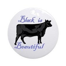 Black Is Beautiful Ornament (Round)