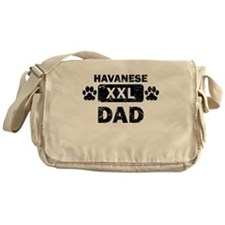 Havanese Dad Messenger Bag