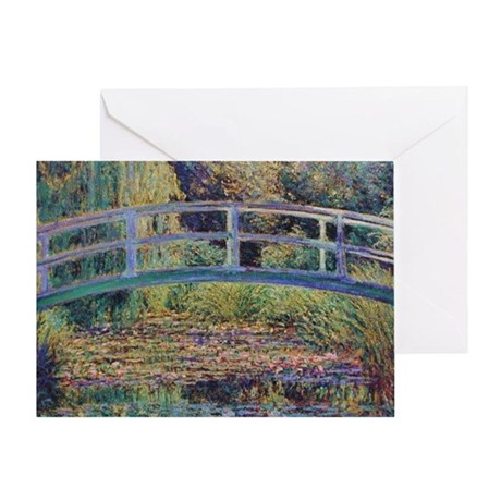 Water Lily Pond by Monet Greeting Card