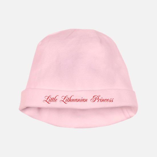 Little Lithuanian Princess Baby Hat