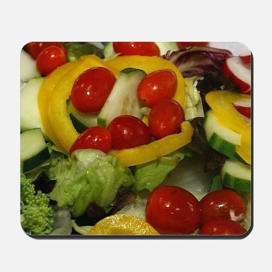 Fresh Garden Salad Mousepad