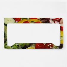 Fresh Garden Salad License Plate Holder