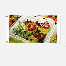 Fresh Garden Salad Banner