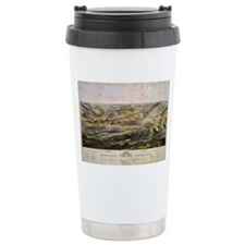 Vintage Map of The Gett Travel Coffee Mug
