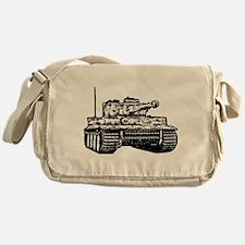 Tiger I Messenger Bag