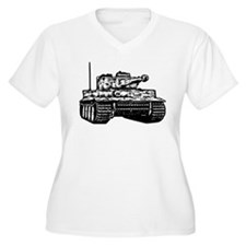 Tiger I Plus Size T-Shirt