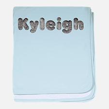 Kyleigh Wolf baby blanket