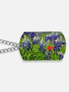 Wildflower Design Dog Tags