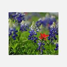 Wildflower Design Throw Blanket
