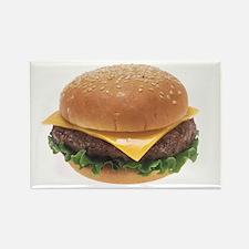 Cheeseburger Rectangle Magnet