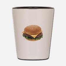 Cheeseburger Shot Glass