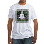 Buddha Fitted T-Shirt