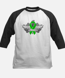 Spinal Cord Injury Fighter Wings Baseball Jersey