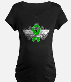 Spinal Cord Injury Fighter Wings Maternity T-Shirt