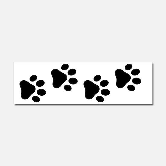 Cute Paw Car Magnet 10 x 3