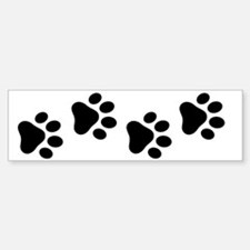 Cute Paw Sticker (Bumper)