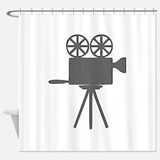 movies film 113-Sev gray Shower Curtain