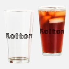 Kolton Wolf Drinking Glass